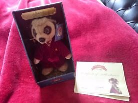 Collectable Meerkat Stuffed Animal Toys - Aleksandr and Baby Oleg Brand New in Box