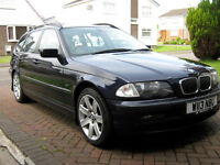BMW 328 TOURING 2000 PLATE CURRENTLY SORN - BEST OFFER SECURES