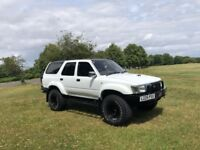 Toyota Hilux Surf White 4x4 SUV Off Road Diesel £3900 ONO