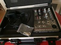 Mixer and travel hardcase, from Phonic and Thomann