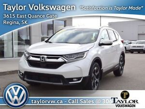 2017 Honda CR-V Touring AWD Local Low Mileage Fully Equipped Tou
