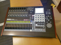 KORG D3200 CD 32-track Digital Workstation Recorder Mixer workling order