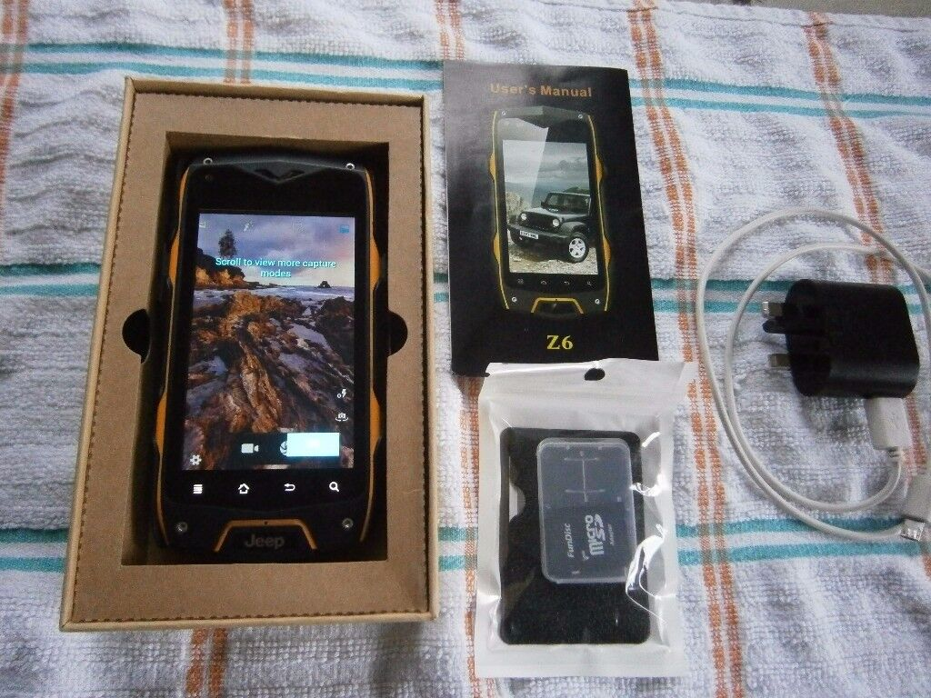 JEEP RUGGED SMARTPHONE (ANDROID) MOBILE PHONE