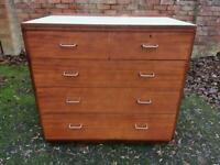 Vintage Military Chest Of Drawers