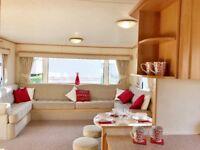Sited Static Caravan.3 Bedrooms. N.Norfolk nr Wells, Hunstanton. Site Fees included. 200m too beach