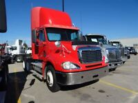 2008 Freightliner Columbia Daycab- Full Lockers
