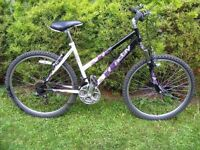 CAN DELIVER - LADIES MOUNTAIN BIKE WITH FRONT SUSPENSION, 18 GEARS, 18'' FRAME