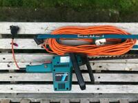 Black and Decker Electric chainsaw with extension lead