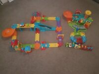 VTech Toot Toot Train Set, Garage, Track & Vehicles Bundle