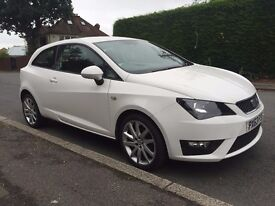 2013 SEAT IBIZA FR 1.2 TSI WHITE SPORT / CAT D 44,000 MILES ONLY / SUPERB CONDITION