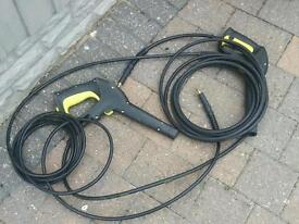 Karcher pair as new triggers with hoses