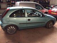 Vauxhall corsa 1 year mot