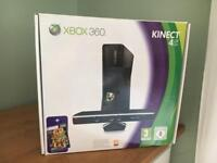 Xbox360 console plus Kinect plus controller and 24 games