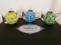 Balmoral Collection Paperweights - Teapot & Coffee Pot Sets