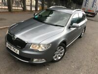 2012(61) Skoda Superb Greenline Estate**Full Dealer SH** £30 Tax - Leather