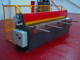 CARTER Direct Drive Guillotine 2.5m x 3.25mm Sheet Metal Fabrication Shear