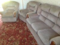 Free old 3 piece suite