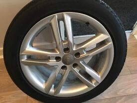 Genuine Audi A6 alloy wheels