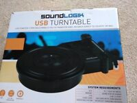 NEW USB turntable in box