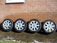 """ALLOY WHEELS for VW "" will fit other makes "" Audi/Seat/ VW T4 Only £55 ONO a full set of 4 """