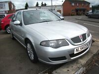 2004 ROVER 45 CLUB SE SILVER M.O.T. APRIL 2017