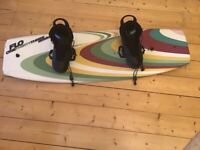 133 new Schnilzel wakeboard with O'Brien Tracer bindings