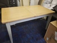 Bordeaux Extending Dining Table ONLY ( DAMAGED )