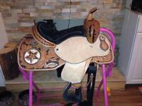 Jr western saddle