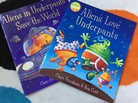 Aliens In Underpants Save The World & Aliens Love Underpants