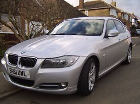 BMW 318D EXCLUSIVE EDITION 2011 full leather,i drive £30 road tax