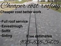 Cheaper cost roofing**