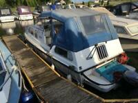 Kite 21 Cabin Cruiser Boat with 9.9HP Yamaha 4-Stroke Outboard (Working Project)