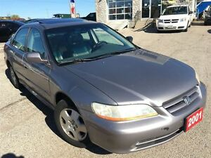 2001 Honda Accord EX /LEATHER/ROOF/LOADED/ALLOYS