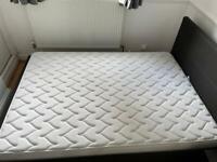 Dormeo Silver Plus Memory foam double mattress (very good condition)