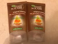 Ambre Solaire Medium self tan gel NEW UNUSED