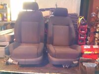 Vw golf/Bora front seats