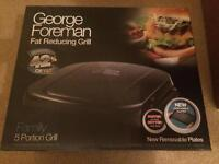 George Foreman 5 portion Grill *NEW & NEVER USED*