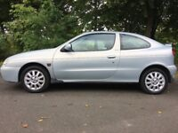 2002 Renault MEGANE 1.4 Coupe LOW MILES 56k!!! Petrol Manual (5 stamps in the services book)