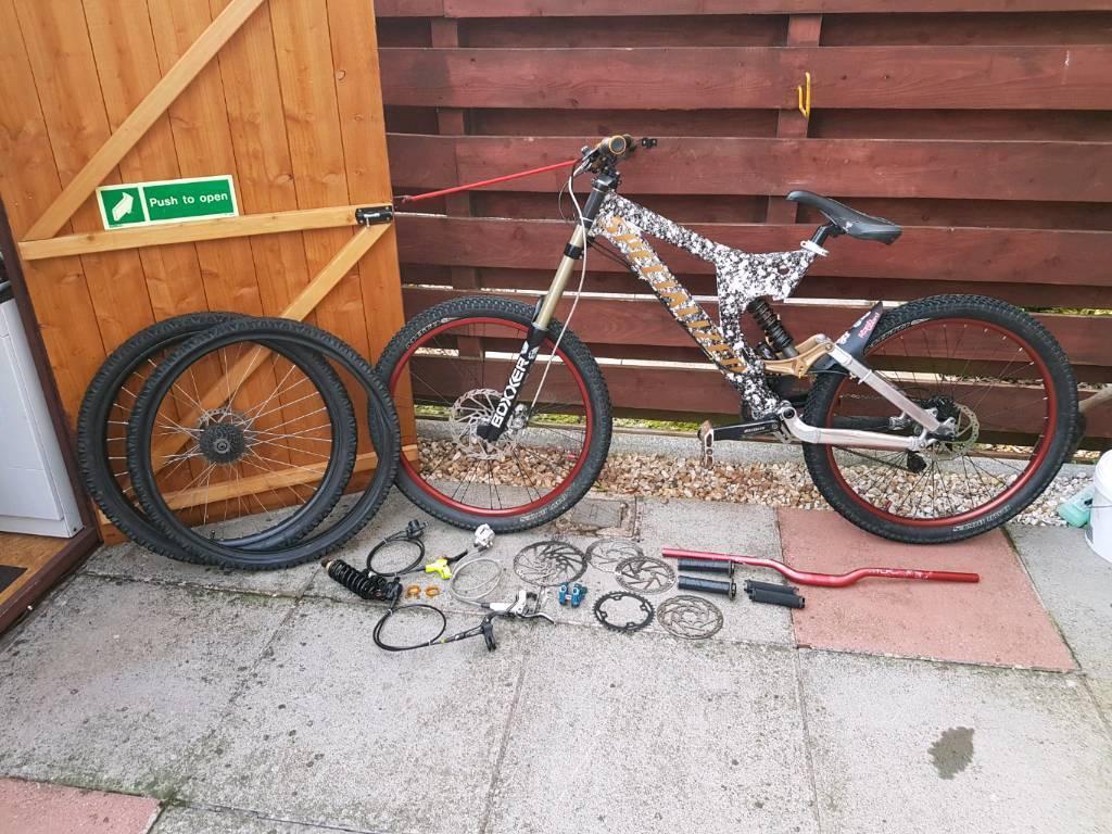 Specialized Big Hit Ii Downhill Mountain Bike Mtb Full Suspension