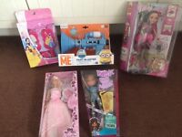 Boys and girls boxed and brand new un used toys, unwanted Xmas/birthday presents, £5 each