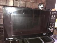 Sandstrom black 800w microwave