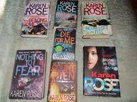 Karen ROSE & Kathy REICHS crime novels