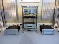 A pair of Bryston 28Bsst2 power amplifiers
