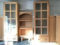 Kitchen units for sale- Nearly full kitchen. 7x wall and 5 base units various sizes