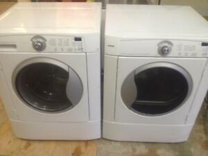 66-   Laveuse Sécheuse Frontales KENMORE  Frontload Washer and Dryer  -