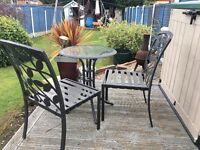 Homebase Bistro set, table and two chairs