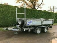 Ifor williams 10 ft electric tipper trailer