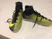 Nike CR7 football boots size 6