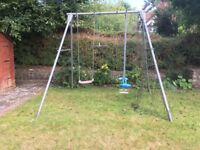 TP Garden Swing with skyride attachment
