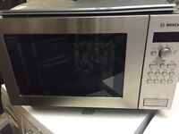 Bosch Intergrated Microwave New and Unused see details
